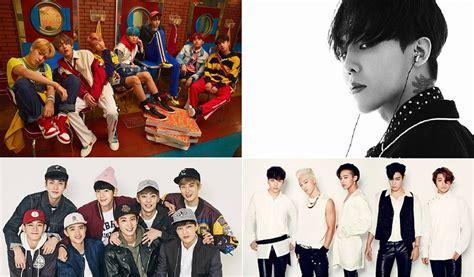 exo dan bts tundukkan bigbang dan exo bts jadi runner up world album