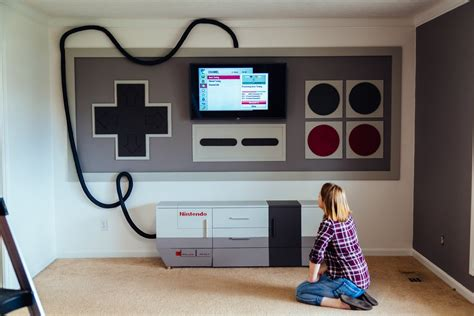 nintendo themed home theater a made for