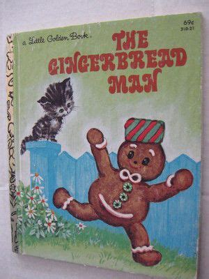 contemporary realistic fiction picture books vintage 1981 the gingerbread golden book lgb