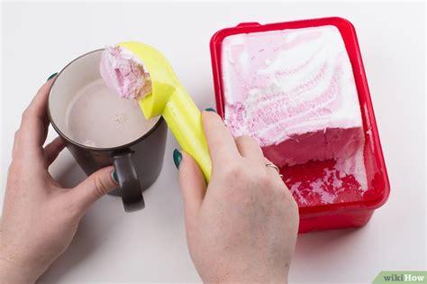 cara membuat ice cream float cara membuat minuman es cokelat wikihow