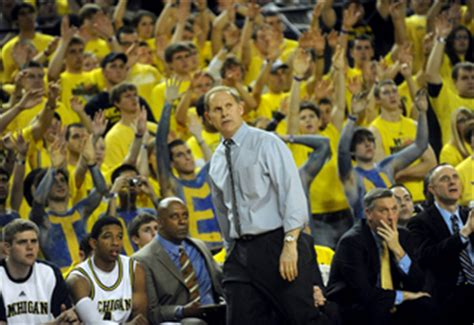 michigan basketball student section student section a key in big non conference games