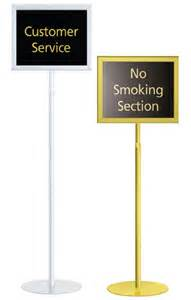 Sign Stands signs amp displays buy cheap floor stands