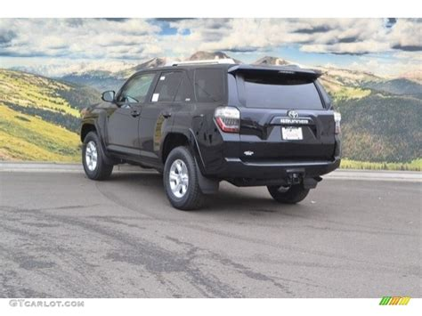 toyota 4runner 2017 black 2017 midnight black metallic toyota 4runner sr5 premium