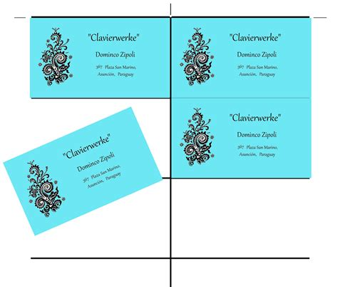 business card templates for gimp 2 6 and gimp 2 8 wimpy