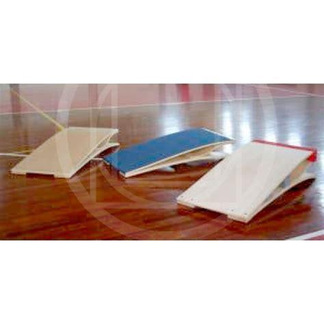 pedana elastica pedana elastica con rivestimento in gomma per esercizi di