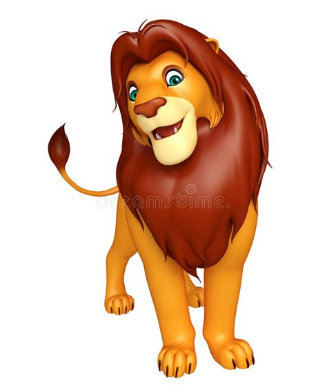 imagenes animadas leon personaje de dibujos animados del le 243 n de fuuny stock de