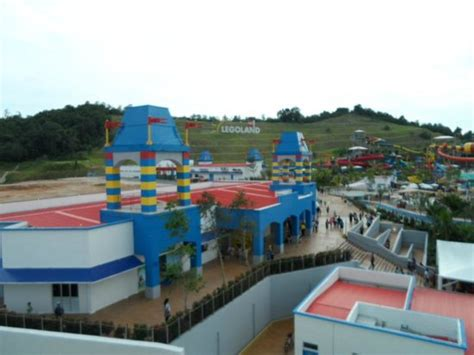 legoland 174 malaysia hotel legoland 174 malaysia resort view of water park from room night picture of legoland