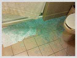 Glass Shower Door Suddenly Explodes Product Liability Rasansky Firm Personal Injury Lawyers