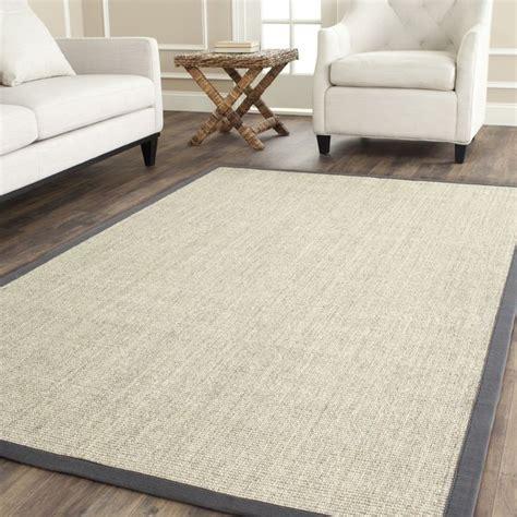 woven serenity marble grey sisal rug 8 x 10