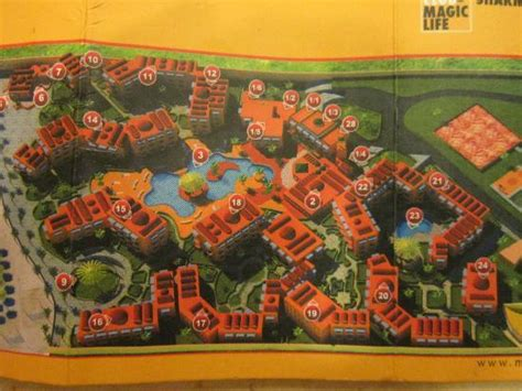 el magic resort map map of resort picture of club magic sharm el sheikh