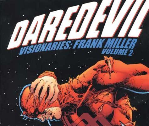 daredevil by frank miller 0785134743 daredevil visionaries frank miller vol ii trade paperback comic books comics marvel com