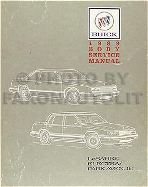 best auto repair manual 1989 buick electra lane departure warning 1989 buick lesabre electra park avenue body repair shop manual original