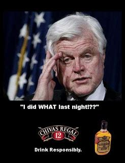 Chappaquiddick Meme Prh A Day In The Teddy Kennedy Chivas Regal Cutty Sark Memorial Funeral