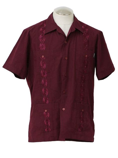 A D Ms 612 Shirt Sleeve Hitam 36 best cuban guayaberas images on guayabera