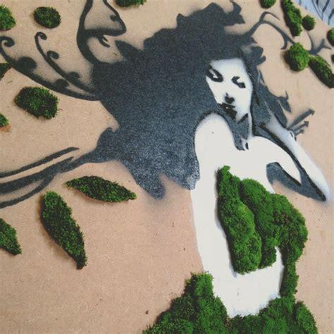 moos graffiti moos graffiti streetart auf umweltfreundlicher weise