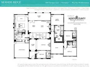 floor plan seaside ridge encintas new home plans design amazing ideas