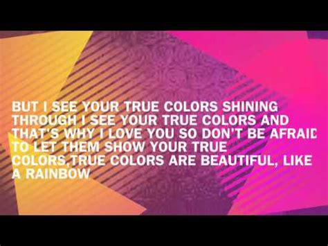 t colors lyrics true colors lyrics julie san jose