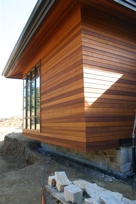 clear vertical grain cedar siding materials and finishes stains window and angeles