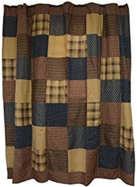 country plaid shower curtain com patriotic patch shower curtain mustard tan