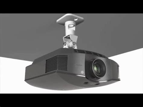 videoproiettore a soffitto sopar srl staffa a soffitto per videoproiettori altezza