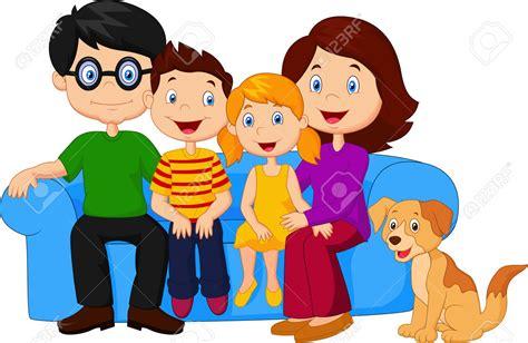 imagenes de familias felices animadas de familia animada 4 related keywords de familia animada