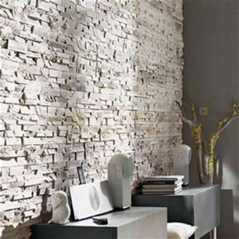 Exceptionnel Plaque De Parement Salle De Bain #1: plaquette-de-parement-en-platre-aspect-pierre-blanche-castorama.jpg