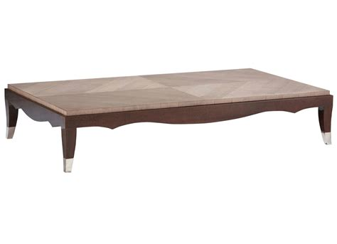 rectangular wood veneer coffee table grand hotel nouveaux