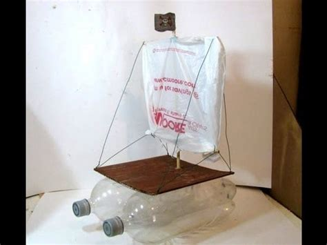how to make a boat with bottle make a boat with plastic bottles just b cause