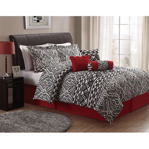 Black And White Lace Comforter by Pem America Lace Texture Black And White Seven King