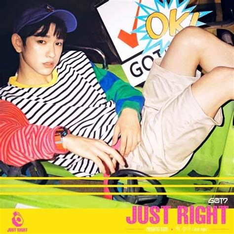 Got7 Just Right Album got7 look just right in new individual teasers for july comeback my korean wave