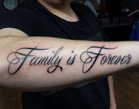 family forever tattoos family everything best images collections hd