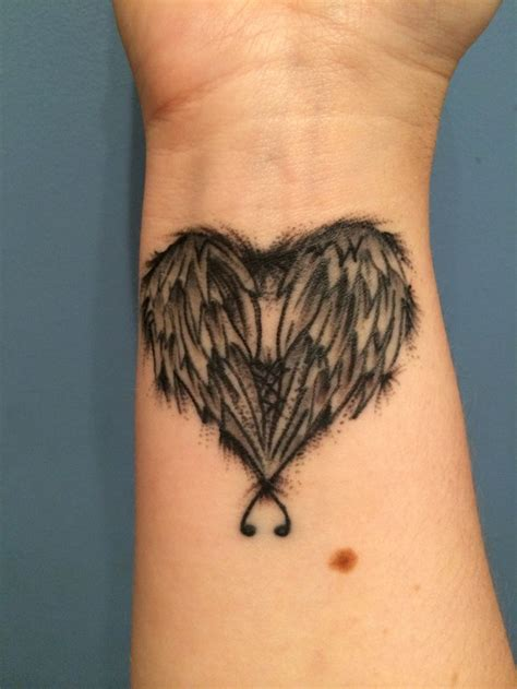 infinity tattoo with angel wings 63 best images about tattoo on pinterest infinity cross