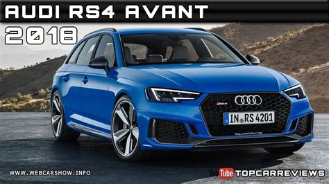 Audi Rs4 Specs by 2018 Audi Rs4 Avant Review Rendered Price Specs Release