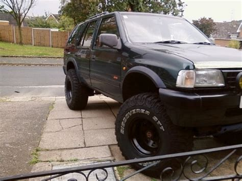 opel frontera lifted bronco65 1995 vauxhall frontera specs photos