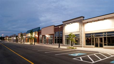 commercial village model simon property to spin off strip mall business world