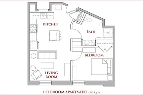 Average Square Footage Of A 1 Bedroom Apartment 28