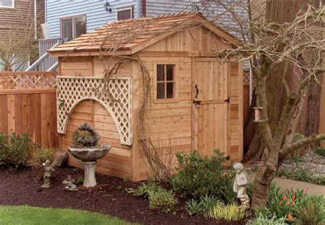 Outdoor Living Garden Shed by Outdoor Living Today 8x8 Gardener Shed G88 Free Shipping