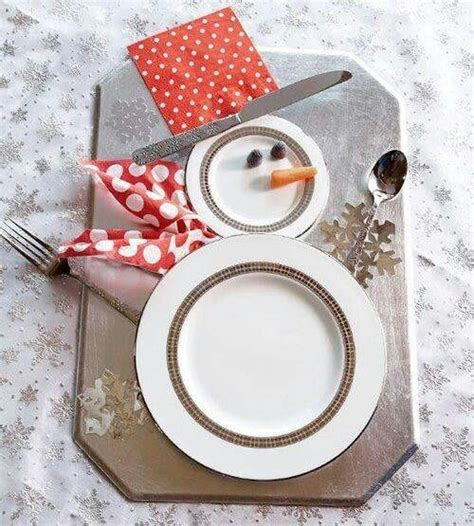 christmas place settings christmas table place setting idea table de no 235 l pinterest