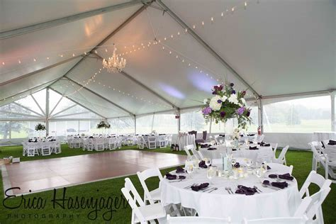 Starburst Gable Structure Tent, Chandelliers   McCarthy