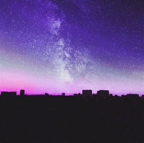 pinterest andrea aesthetic galaxy purple sky