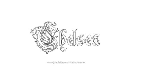 chelsea tattoo designs chelsea tattoos designs images