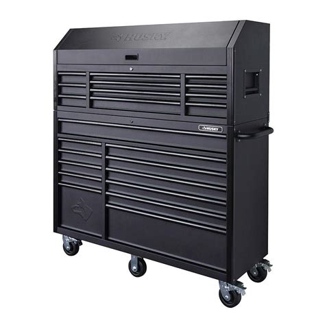 tool chest and rolling cabinet husky 56 in 23 tool chest and rolling cabinet set