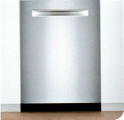 Dishwasher Display On Floor - bosch shv53tl3uc 24 quot 300 series built in fully integrated