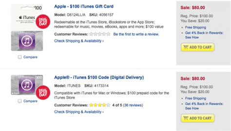 Best Buy Itunes Digital Gift Card - best buy offering 20 discount on itunes gift card today