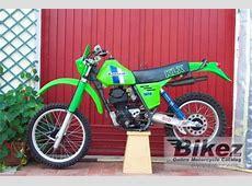 1983 Kawasaki KLX 250 specifications and pictures Kawasaki 250 Ccm Enduro