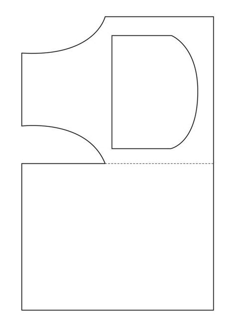 Apron Template For Card by Apron Card Card