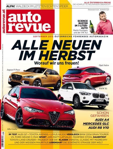 Auto Revue by Autorevue Magazin September 2015