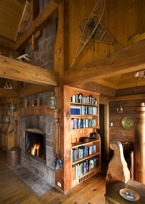 eclectic living room by two story cottage cabin up north eclectic living room minneapolis by