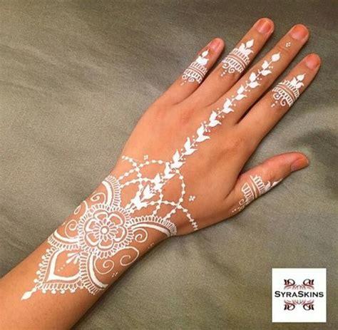 white henna henna pinterest ring finger middle and