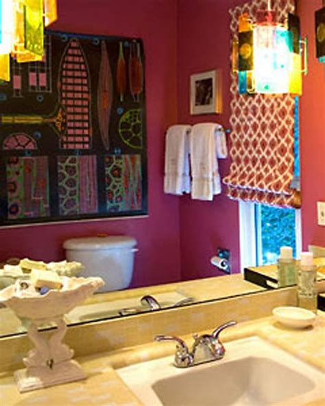 bohemian bathroom decor gypsy decor bohemian bathroom decorating in stylish look